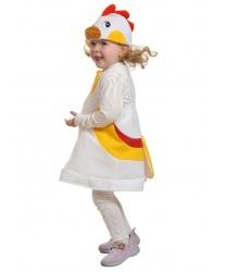 Детский костюм курочки (ткань, плюш)