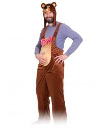 Взрослый костюм бурого медведя