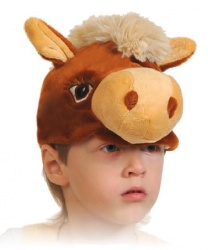 Шапочка коня