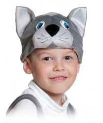 Шапочка серого котика