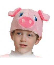 Шапочка свинки
