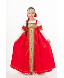 """Русский народный костюм для девочки """"Марьюшка"""""""