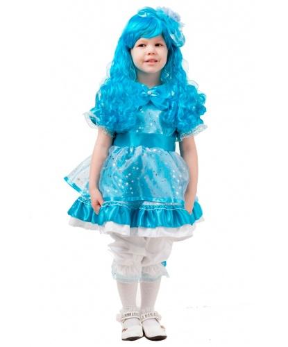 Детский костюм Мальвина: платье, парик, панталоны, ободок (Россия)
