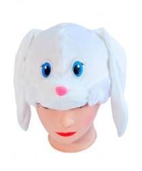 """Шапка """"Заяц белый"""""""