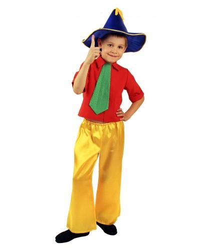 Незнайка: рубашка, брюки, шапка, галстук (Россия)