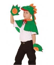 Набор дракона: шапочка, накидка, перчатки (Россия)
