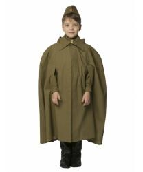Плащ-палатка офицерская:  Плащ с капюшоном (Россия)