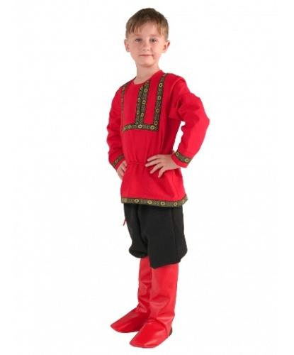 Рубаха льняная красная: рубаха (Россия)