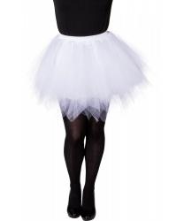 Белая юбка-пачка