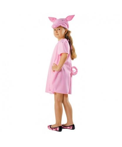 Детский костюм Свинка: платье, шапочка (Польша)