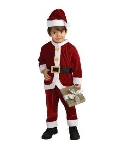 Детский костюм Санта: колпак, рубашка, штаны (Польша)