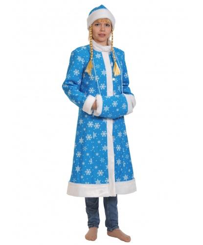 Костюм Снегурочки: шуба, шапка, муфта (Россия)