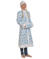 Новогодний наряд снегурочки: шуба, шапка, муфта (Россия)