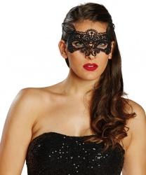 Кружевная маска с ушками