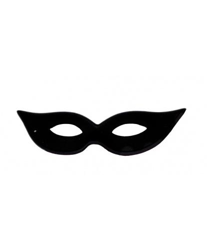 Черная маска с заостренными краями, полиэстер (Германия)
