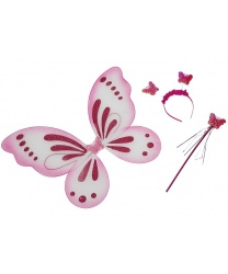 Набор розовой бабочки крылья : 50х40 см. (Германия)