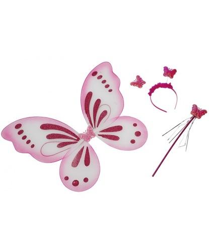 Набор розовой бабочки: крылья : 50х40 см. (Германия)
