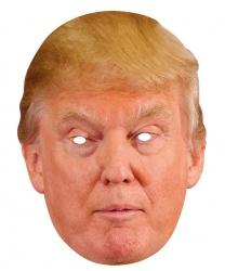 Бумажная маска 2D Дональд Трамп
