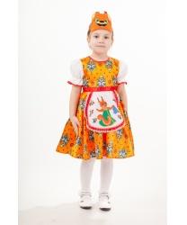 Костюм Белочка Анфиса : платье, маска (Россия)