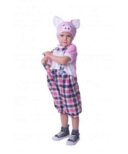 Детский костюм Поросенок Ниф Ниф: комбинезон, шапка (Россия)