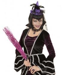 Ведьминский мини-колпак (фиолетовый)