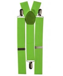 Подтяжки зеленые