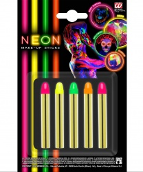 Неоновые карандаши, светятся УФ