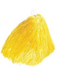 Помпон болельщицы желтый