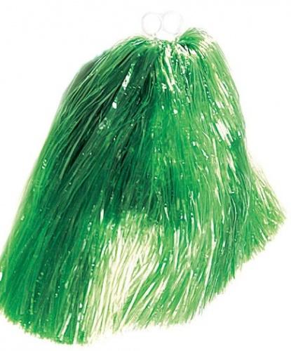 Помпон болельщицы зеленый