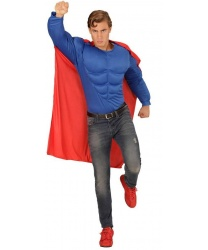 Мужская футболка супергероя