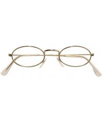 Узкие овальные очки