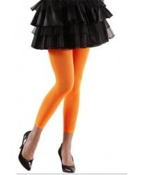 Неоновые леггинсы оранжевые