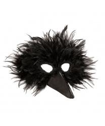 Маска черной птицы