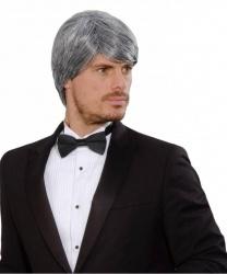Мужской седой парик