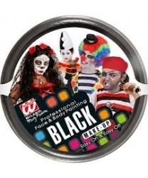 Театральный грим черный
