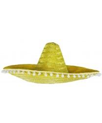 Мексиканская шляпа желтая