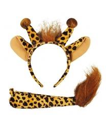 Уши и хвост жирафа