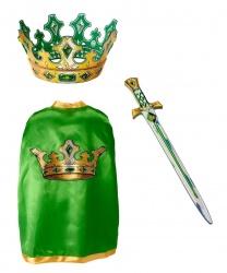 Накидка, корона и меч рыцаря