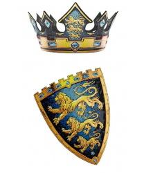 Корона и щит короля