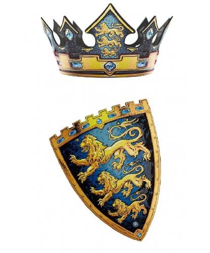 Корона и щит короля, EVA (пенистый материал) (Дания)