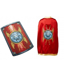 Римский  щит и накидка