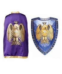 """Накидка и щит """"Золотой орел"""""""