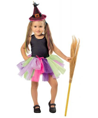 Юбка-пачка, разноцветная (детская): юбка (Польша)