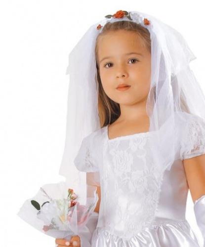Фата и букет невесты