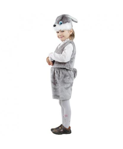 Заяц серый: шорты, жилетка, шапочка (Россия)