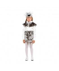 Мышка серая: шапочка, юбка, пелерина (Россия)