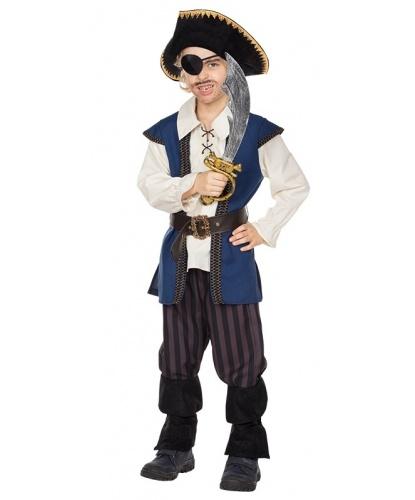 Детский костюм Пират Джек: рубашка, брюки, пояс (Германия)