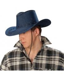 Ковбойская шляпа из джинсы