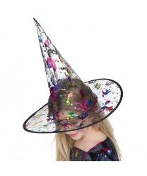 Детский колпак ведьмочки