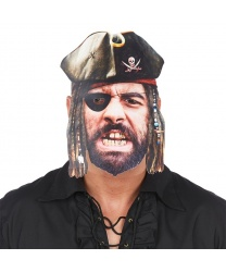 Бумажная маска 2D Пират